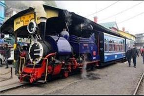 christmas gift for tourists in darjeeling  toy train to start after 9 months