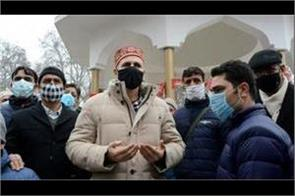 omar abdullah said   mandate with us now in the fight for restoration of 370