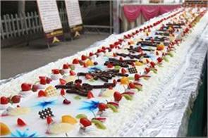 4 5 km long cake to be baked in kerala on jan 15