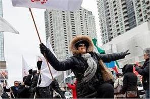 canada  iranians celebrate qasim sulaimani  s death