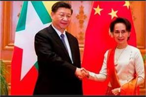 myanmar china push for bri with 33 deals