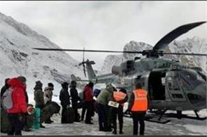iaf rescues 107 people in ladakh