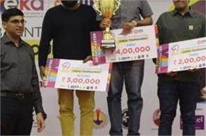 sandeep donation becomes mumbai international chess winner