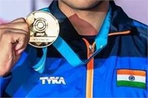 saurabh choudhary   gold medal
