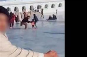 dera baba nanak sri kartarpur sahib young tik tak video viral