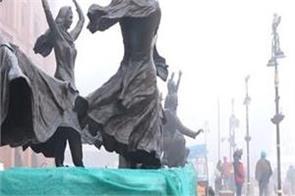 amritsar heritage street statue 8 people police remand