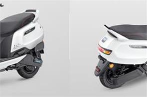 tvs iqube electric scooter launched in india
