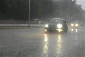 rainfall is expected in punjab on january 27 and 28