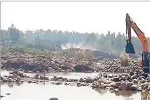 jalandhar  maine mafia  illegal mining