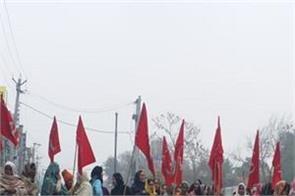 protests  sangrur bharat bandh