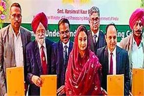 bathinda  harsimrat kaur badal  indian institute of food processing technology