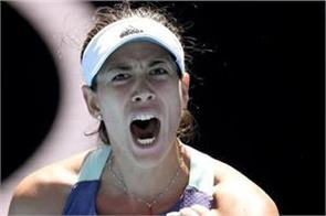 hallep face muguruza in australian open semi final