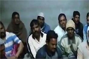 34 men trapped in saudi arabia