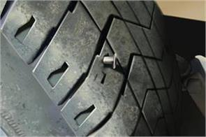 woman sends photo of fake puncture tyre to take leave