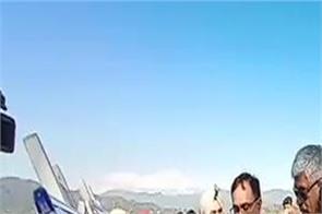 pathankot  union minister gajender singh shekhawat  shahpur kandi dam