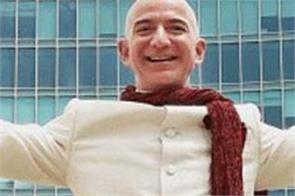 amazon jeff bezos announces e rickshaw coming in india