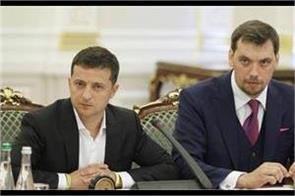 ukraine  s president rejects prime minister  s resignation