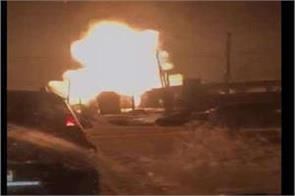 gas leak explosion in russia