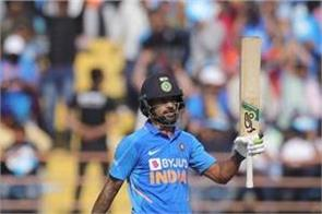 dhawan s stormy performance against australia making new biggest record