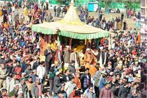 holi utsav lord raghunath rath yatra in kullu himachal pradesh