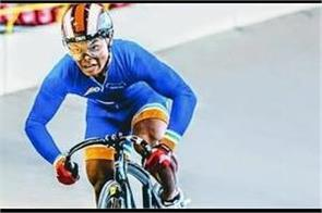 esow alban won the gold medal in the cycling tournament