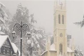himachal pradesh in fresh snowfall road closed