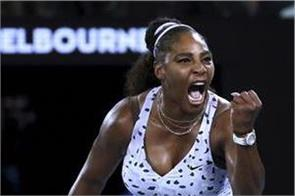serena in the second round of the australian open with an easy win