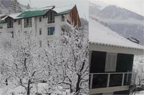 fresh snowfall in himachal pradesh