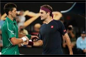djokovic defeated federer in the 8th final