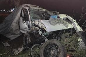 road accident girl death 4 injured