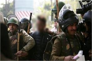 jamia firing case delhi police files a case against the accused