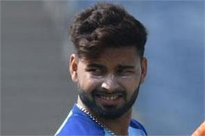 pant will not play in the second odi against australia