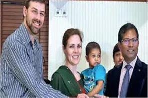 orphaned baby was found road 3 years now adopted by american couple