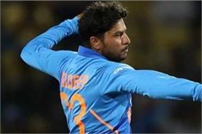 ind v aus  kuldeep yadav completes hundreds of wickets
