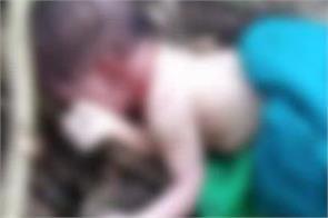 newborn baby  corpse recoverd
