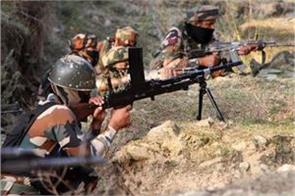 heavy firing by pakistan near poonch control line