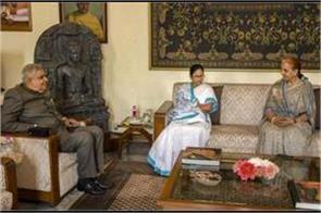 mamata meets west bengal governor jagdeep dhankar