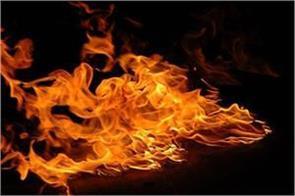 jalandhar  terrible fire in ghai furniture warehouse