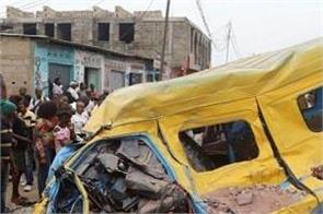 congo  road accident
