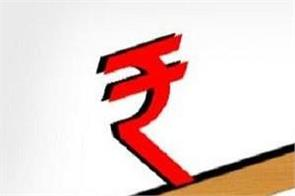 the rupee had weakened by 7 paise