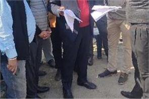 cabinet minister  sham sunder arora  driving test track  raid