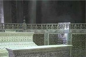 shah jahan and mumtaz graves in taj mahal