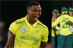south africa defeated england by one run in first t20 match