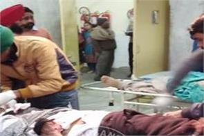 moga road accident one person death