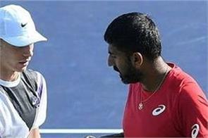 bopanna enters semifinal with his partner shapovalov in rotterdam open 2020
