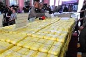 egypt foils smuggling of 3 900 kg illicit drugs