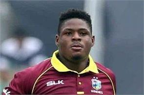 accident of young windies cricketer oshane thomas in car hospitalized