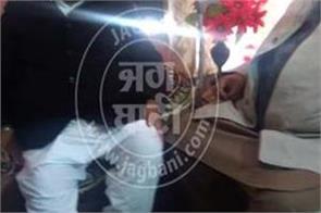 amritsar sukhbir badal ratan singh ajnala meeting