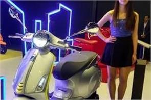 piaggio group unveils aprilia sxr 160 electric scooter