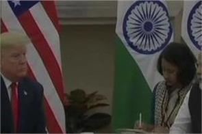 donald trump and narendra modi talks at hyderabad house